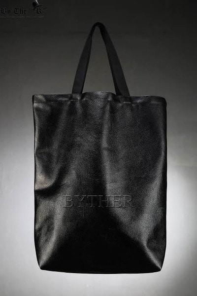 ByTheR大尺寸仿皮環保購物袋