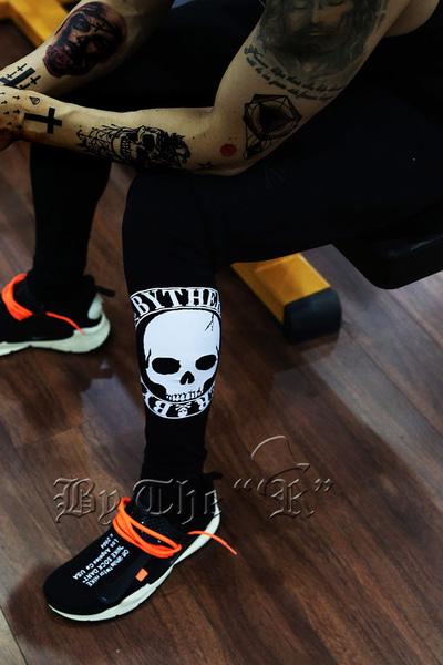 ByTheR Skull Printed Leggings