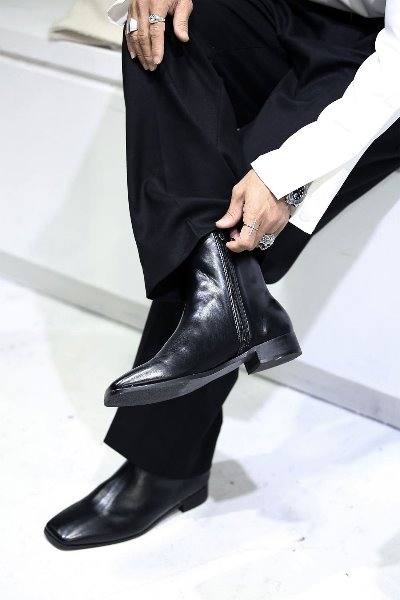 Minimal Ankle Boots