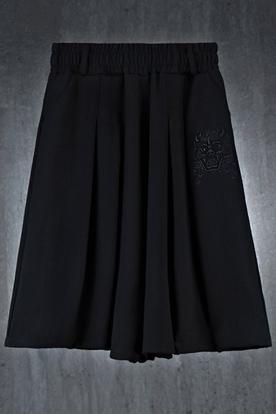 Mukha embroidered skirt wide trousers