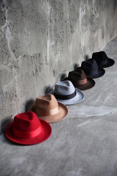 ByTheR Vivid Woolen Fedora Hat