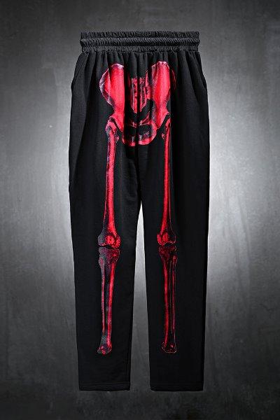 ByTheR Skull Logo X-Ray Print Training Pants
