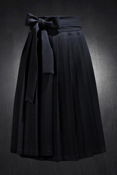 Mukha Bold Robe Pleated Skirt