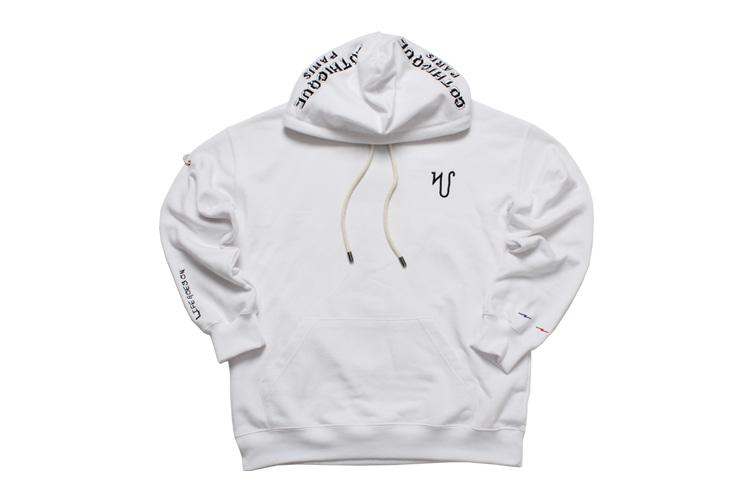 Overlettering hoodie  [G8SA10U80]