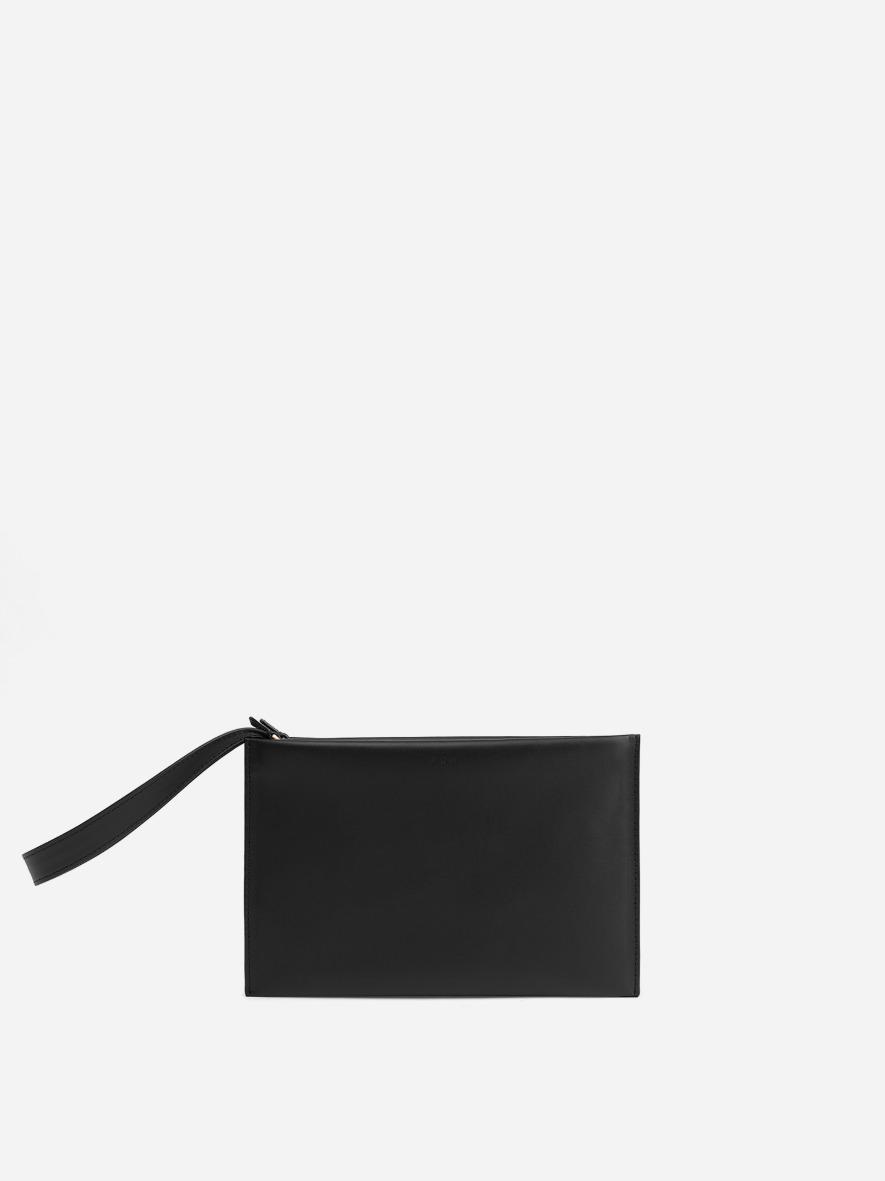 Double clutch bag Black