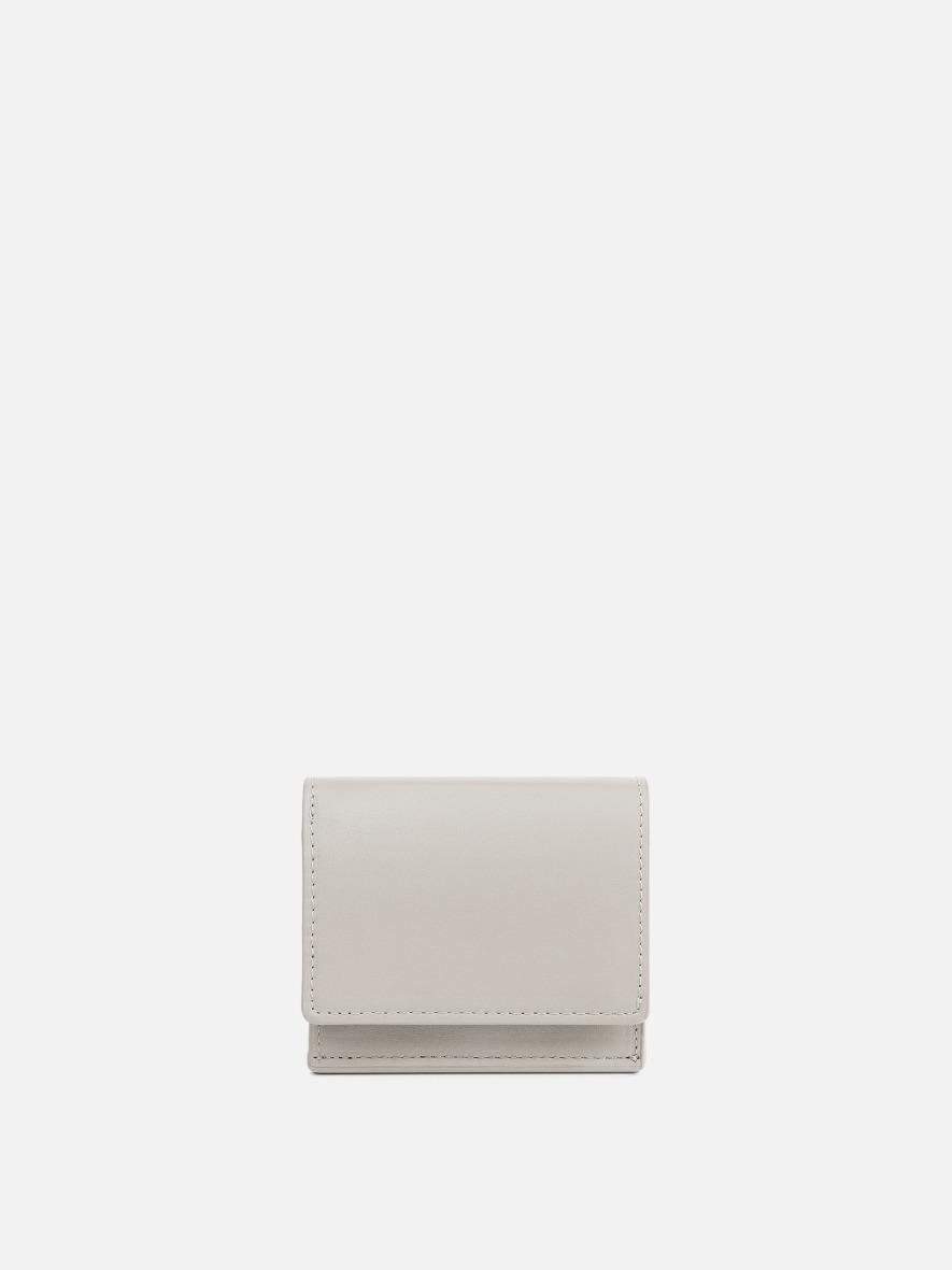 Pochette small wallet Ivory