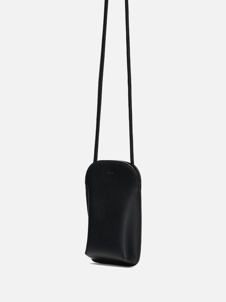 Pocket crossbody wallet Black