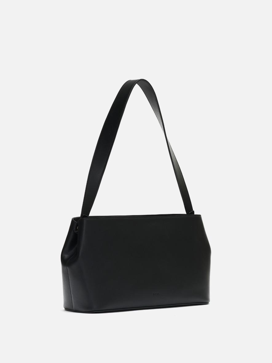 Aline half shoulder bag Black