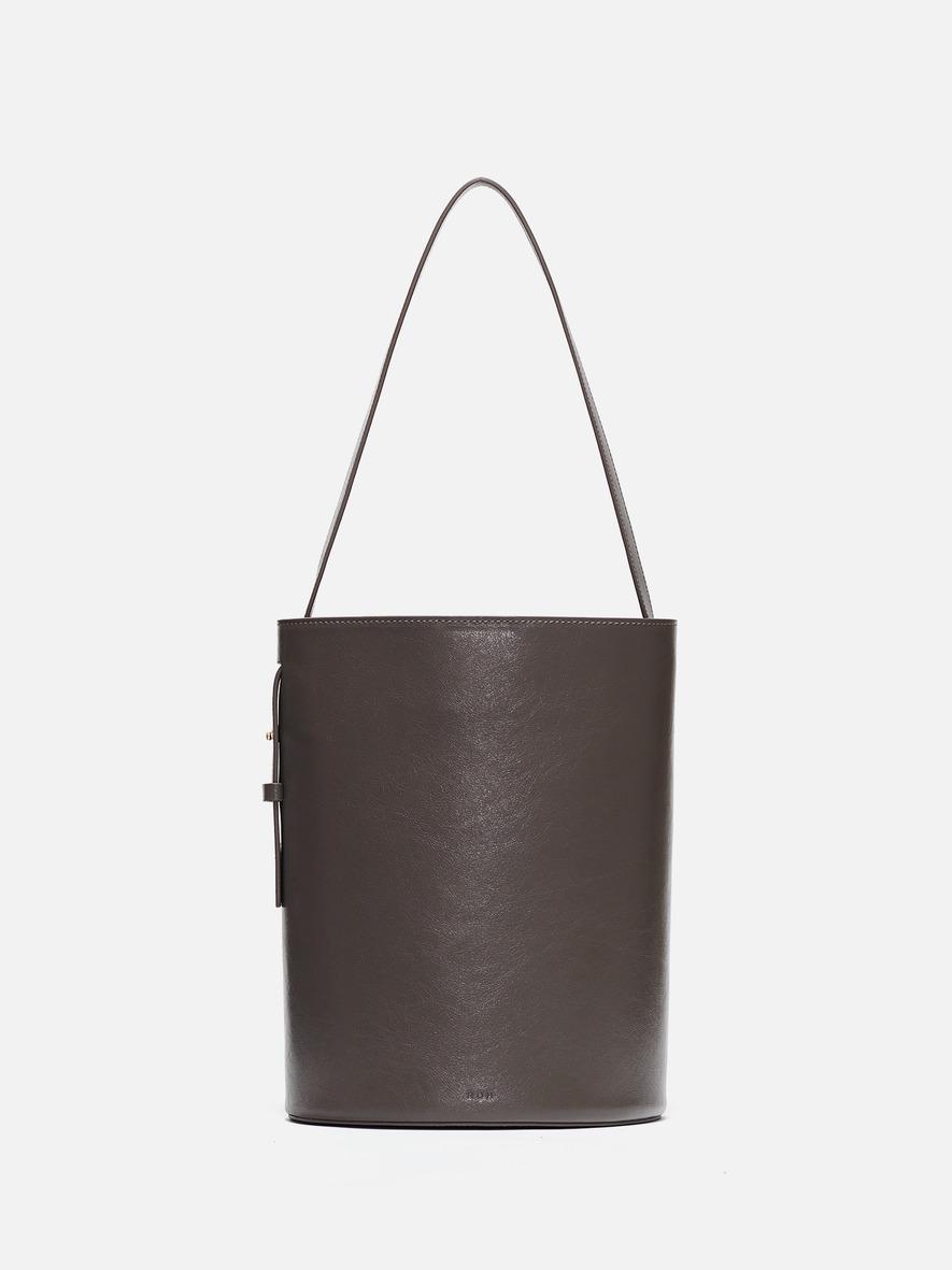 Juty medium shoulder bag Wrinkled gray
