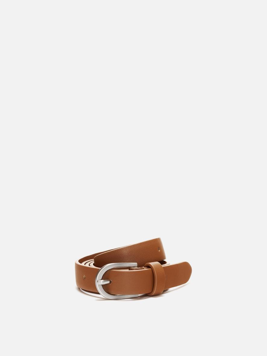Around small Belt Creamy tan