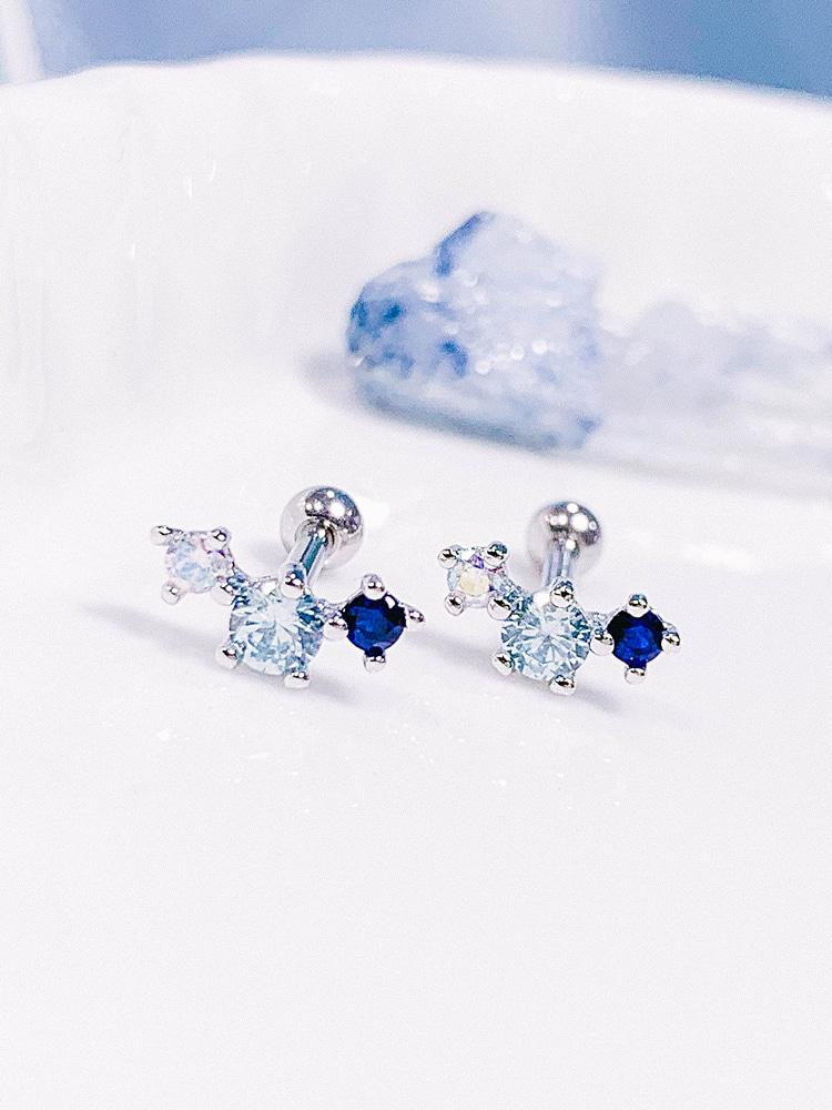 [BLUE] 별의 잔상 Piercing/Earring