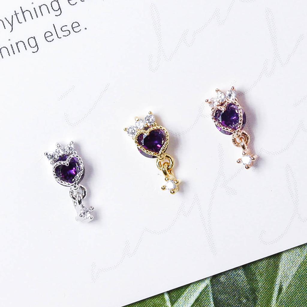 [VIOLET] Magic Lamp Piercing/Earring