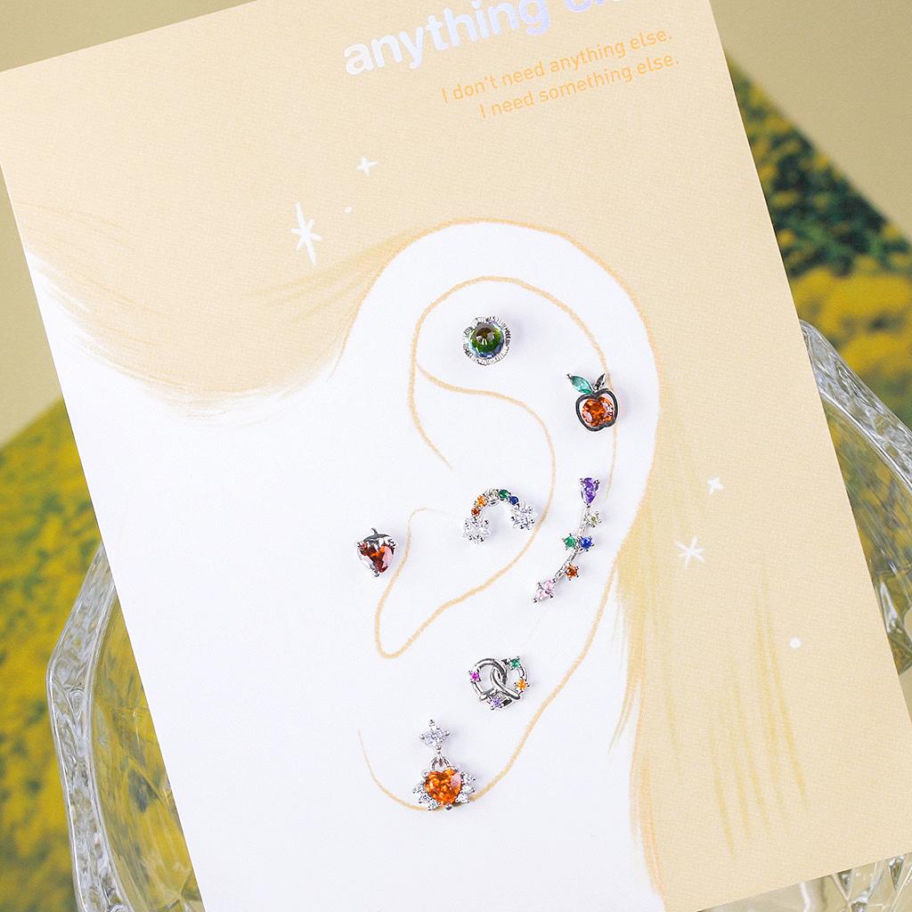 Color Fresh Piercing/Earring SET