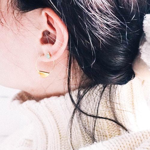 [특가] Soulmate Earring [2 colors]