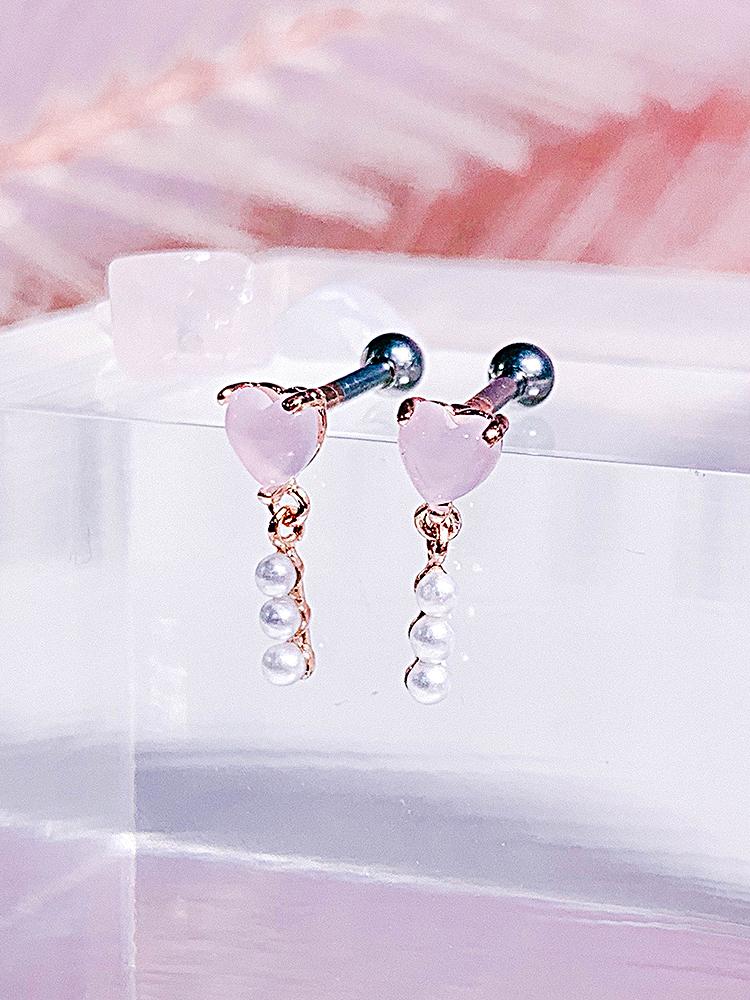 [PINK] 방울방울 Piercing/Earring