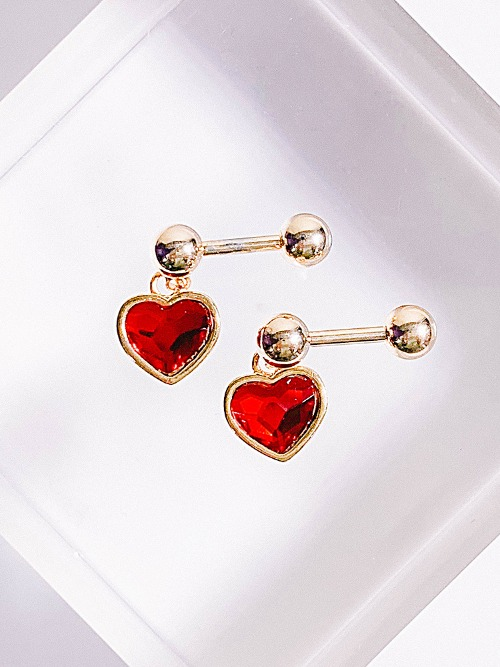 [RED] Solution of Love Piercing/Earring