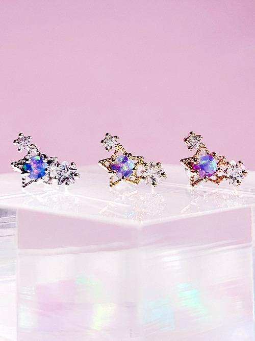 Violet Sunrise Piercing/Earring