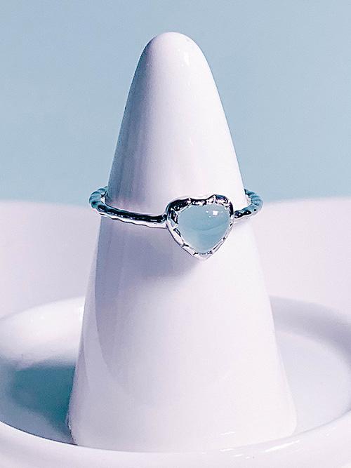 [Silver 925/BLUE] Love Adagio Ring