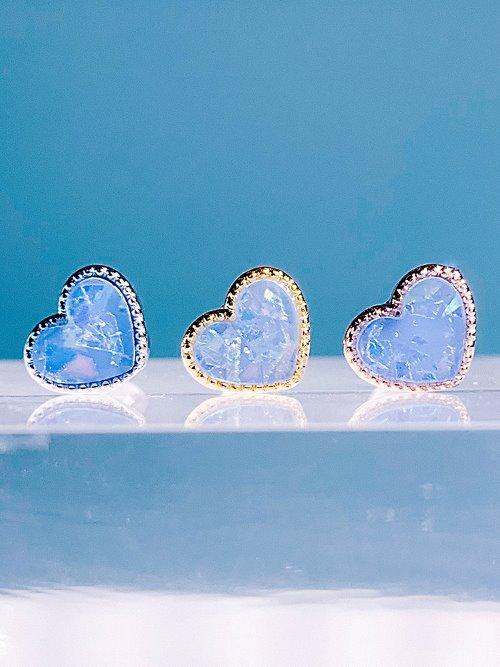 [BLUE] 작은 마음 Piercing/Earring