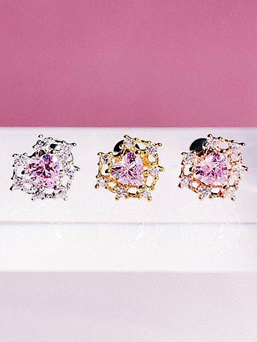 [PINK] MINI Palace Piercing/Earring