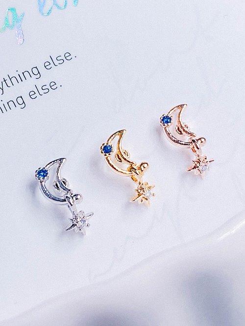 Moonbeam Piercing/Earring