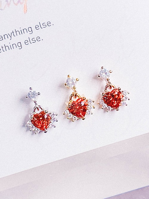 [RED] Sprout Piercing/Earring