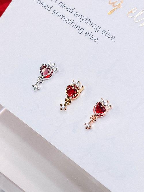[RED] Magic Lamp Piercing/Earring