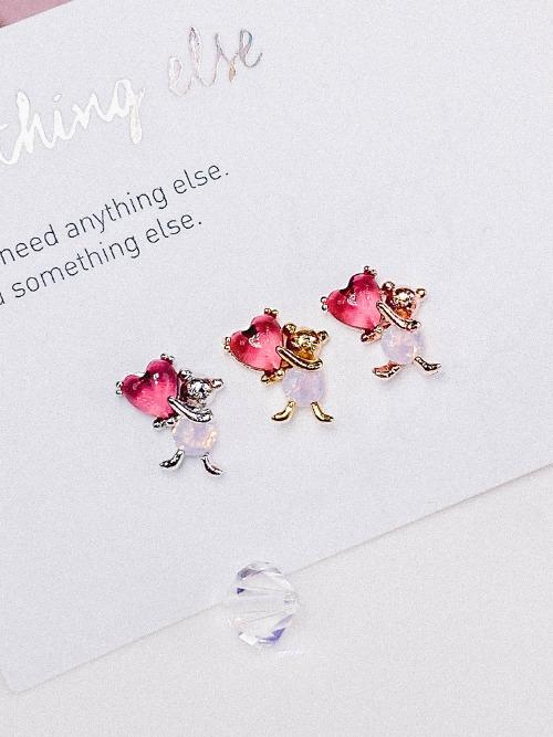 [PINK] Postman of Love Piercing/Earring