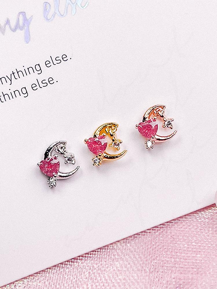 [PINK] Eve Piercing/Earring