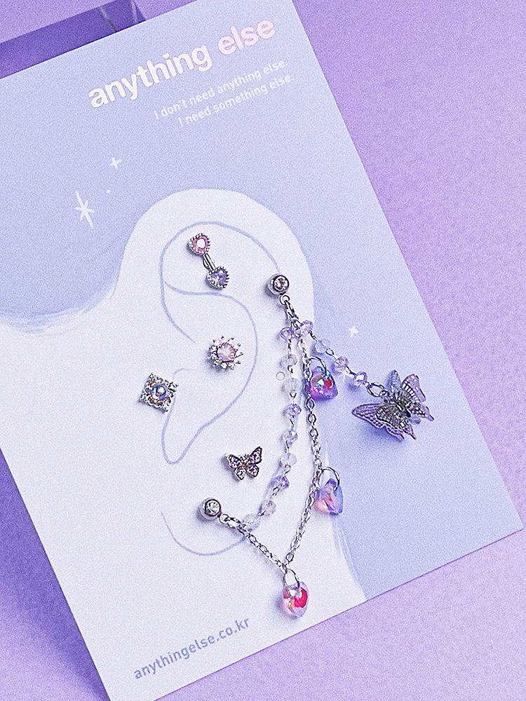 Hopeful Na-bi Piercing/Earring SET
