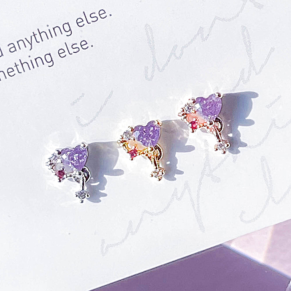 [VIOLET] Happiness Piercing/Earring