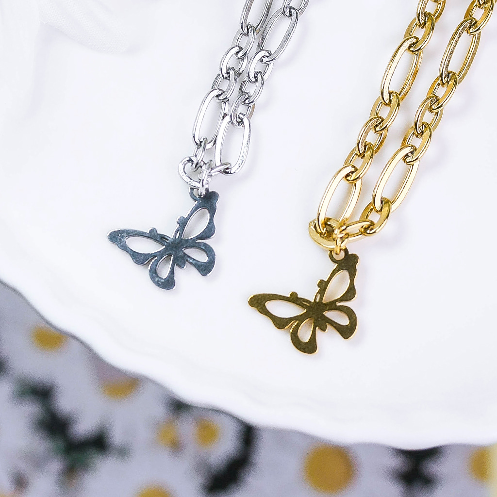 [Surgical] Fly to Sky Necklace