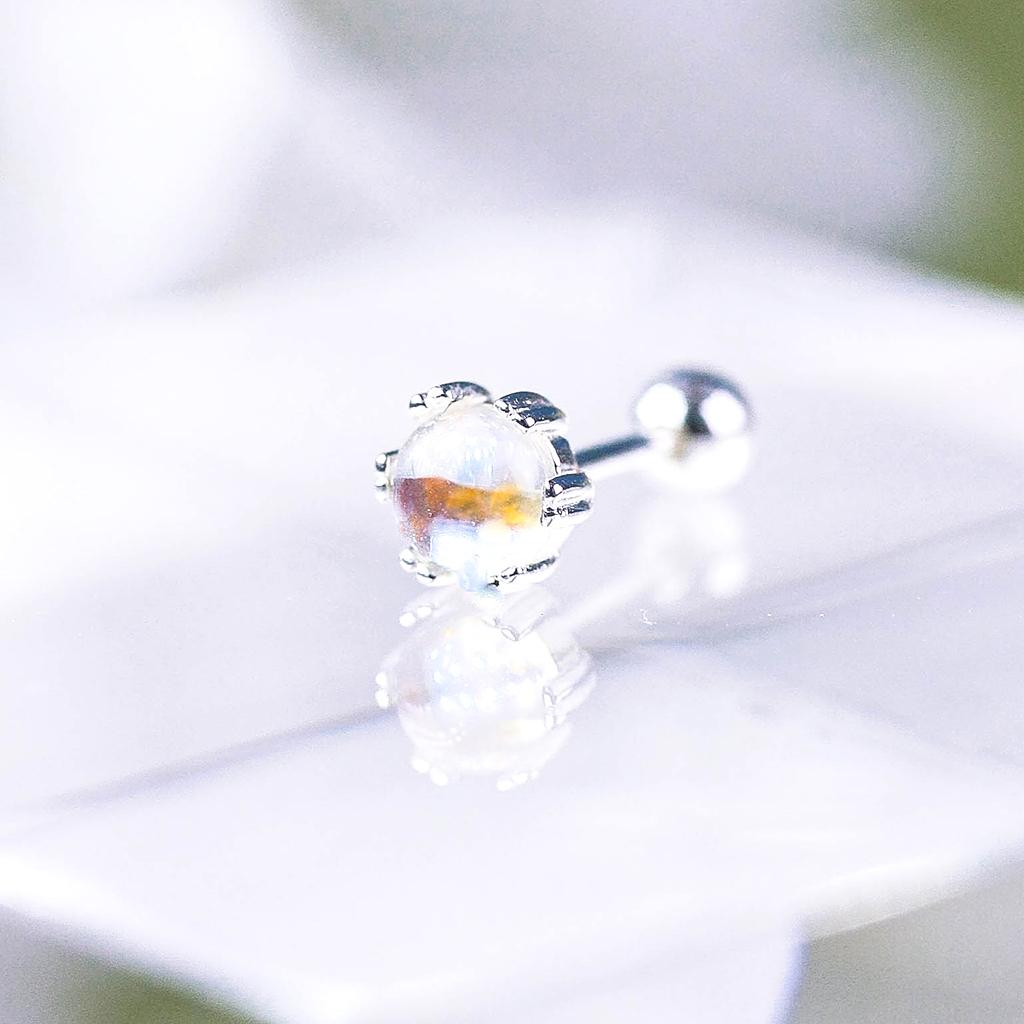 [Silver 925] After Rain Piercing