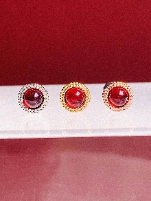 [RED] Shines Piercing/Earring