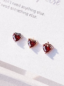 [RED] Strawberry Piercing/Earring