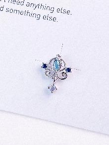 [BLUE] 마차 Piercing/Earring
