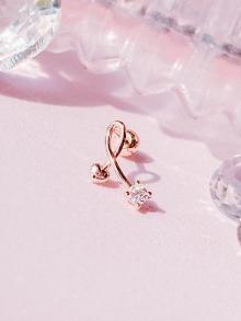 [14K GOLD] Love Road Piercing