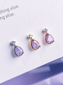 [VIOLET] Rainy Day Piercing/Earring