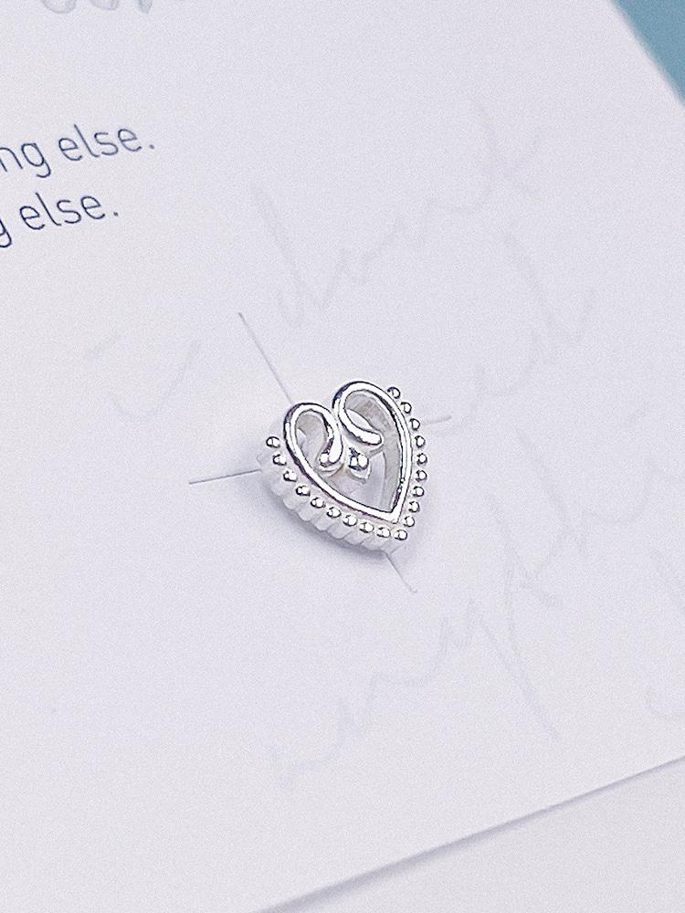 [Silver 925] Love Story Piercing