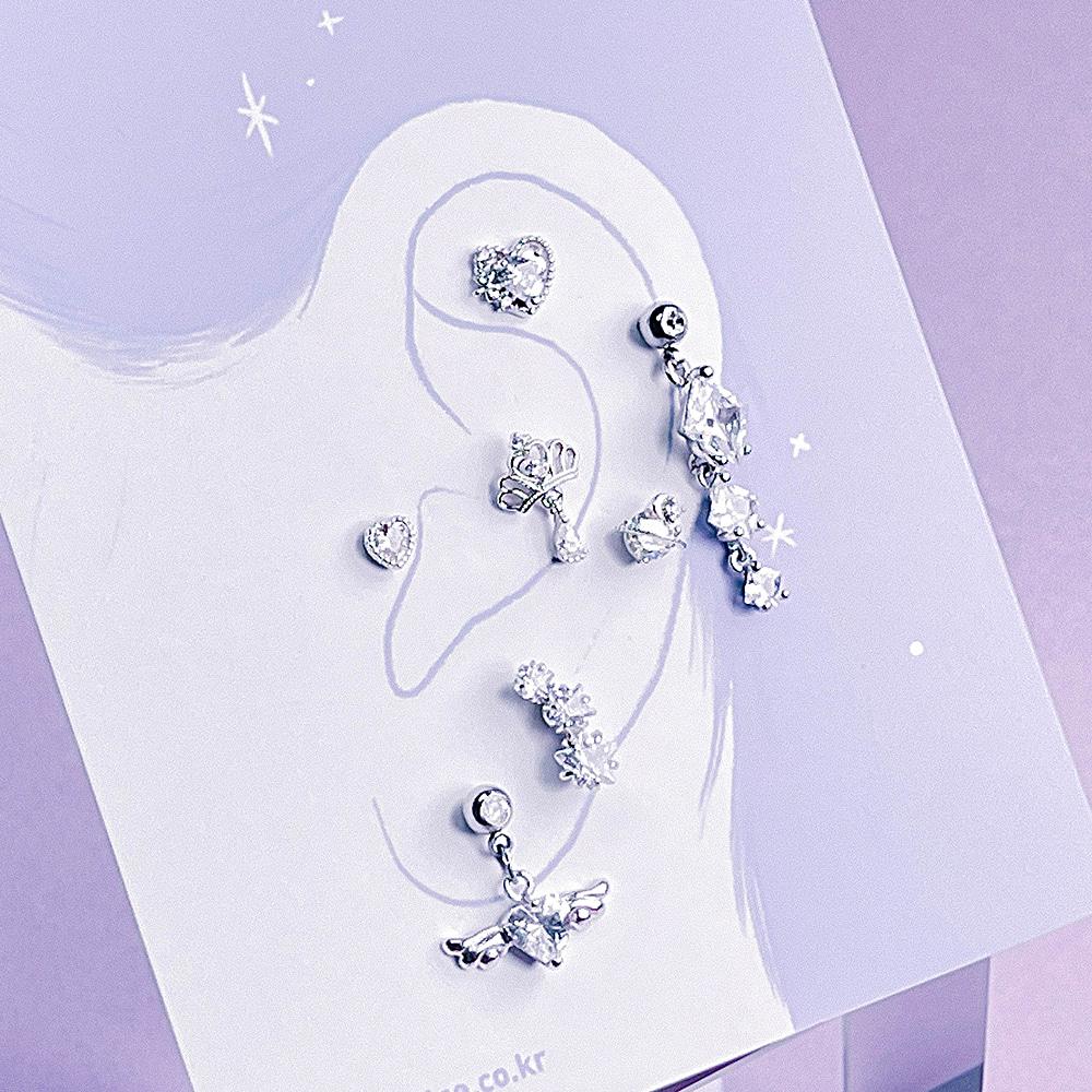 Diamond Dance Piercing/Earring SET
