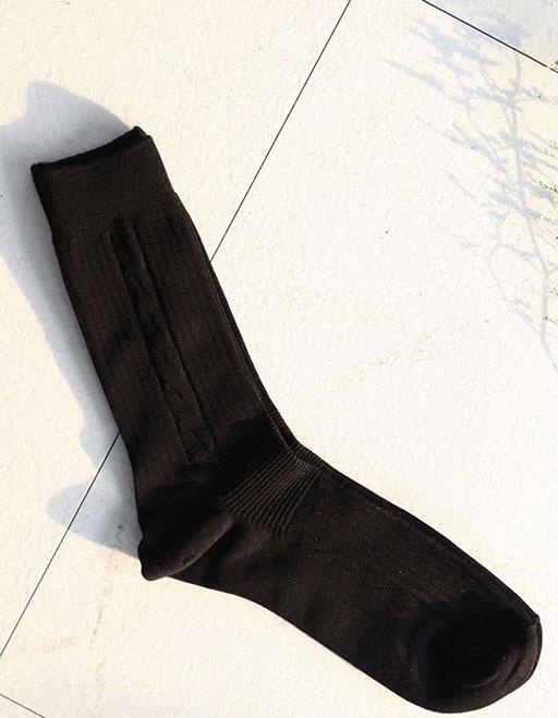 ASCLO Black Socks
