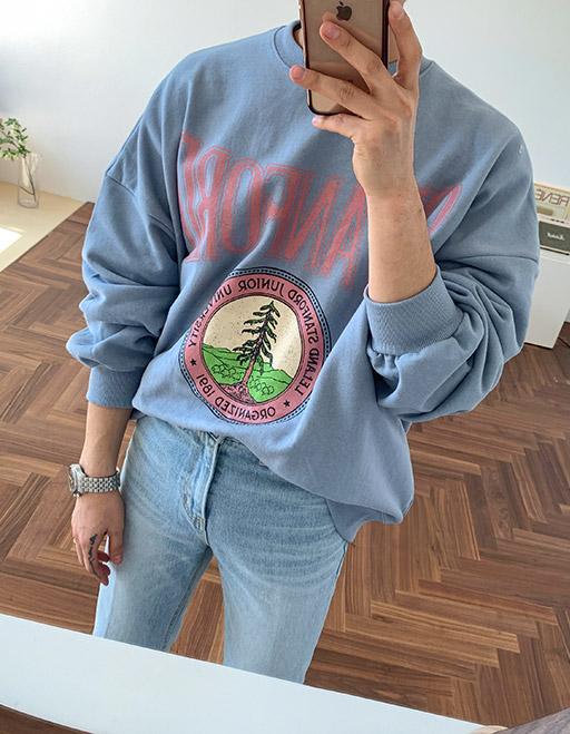 스탠포드 맨투맨 (3color)