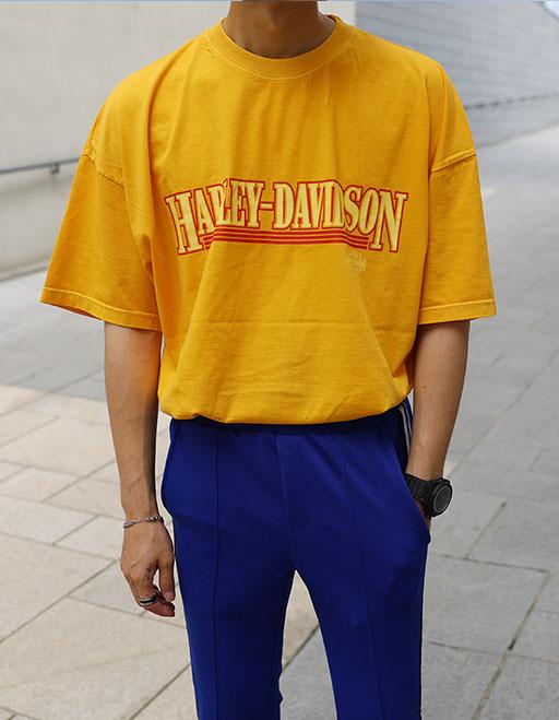 다잉 할리데이비슨 반팔티셔츠 (2color)