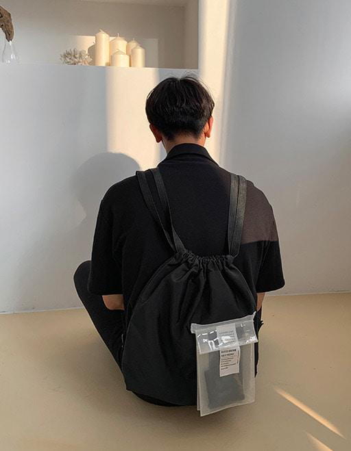 애즈클로 PVC포켓백팩