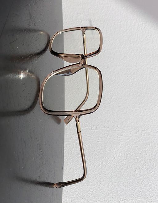 애즈클로 비취스퀘어 안경 (4color)