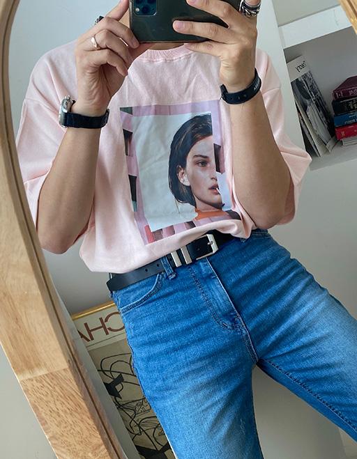 핑크캔디 반팔티셔츠 (3color)