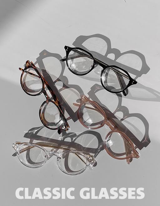 애즈클로 클래식 안경 (4color)