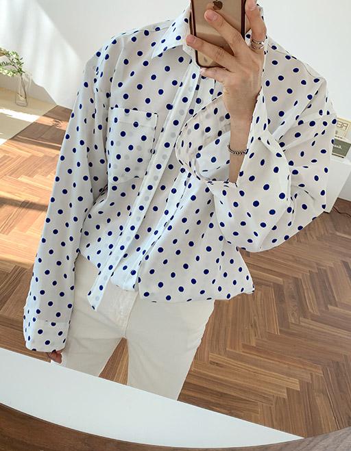 도트타이셔츠 (3color)