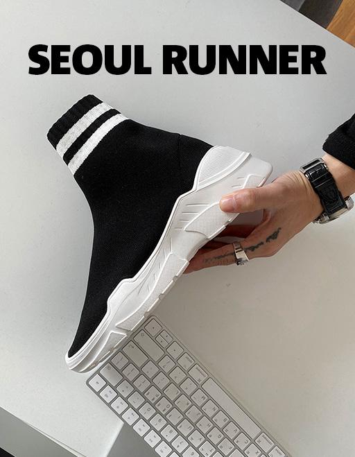 애즈클로 서울 러너 (2color)
