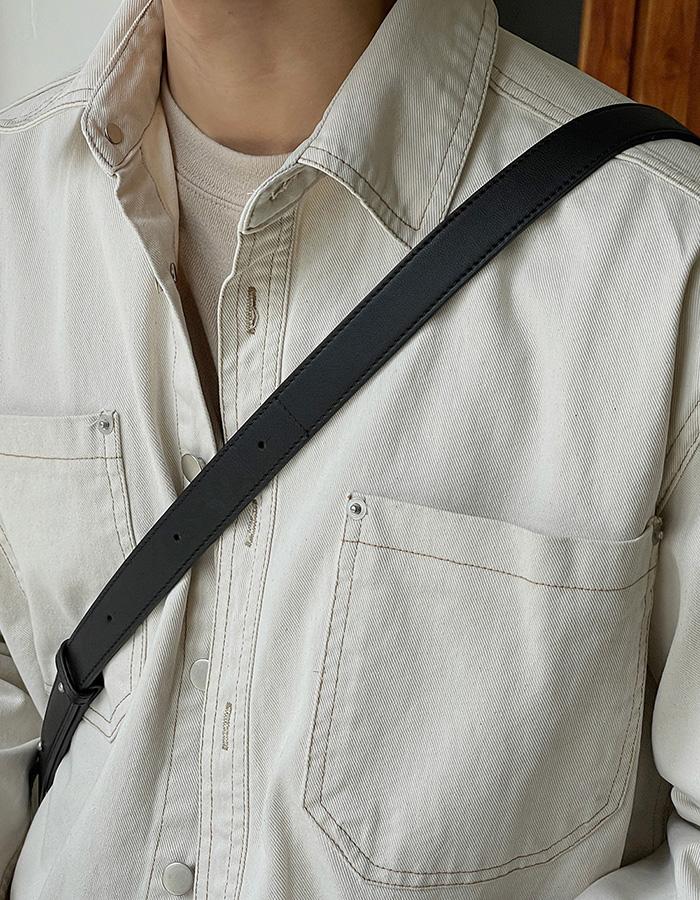 아더 데님셔츠자켓 (2color)